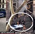 Spania. Tânăr român, care a furat o mașină, apoi a lovit o gravidă și 4 polițiști, arestat în aplauzele cetățenilor